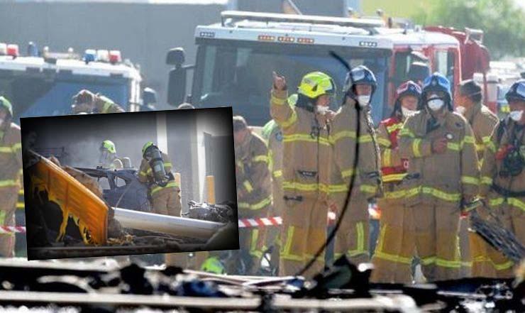 Τραγωδία στην Αυστραλία – Αεροπλάνο καρφώθηκε σε εμπορικό κέντρο (ΦΩΤΟ)