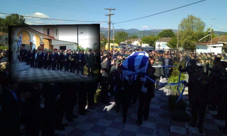 Πτώση ελικοπτέρου: Ραγίζουν καρδιές στη κηδεία του Θωμά Αδάμου (ΦΩΤΟ)