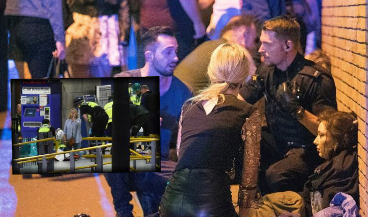 Τρομοκρατική επίθεση στο Μάντσεστερ Live-22 Νεκροί και 50 τραυματίες (ΦΩΤΟ+ΒΙΝΤΕΟ)